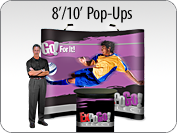 EXPOGO Select 8 & 10 Foot PopUps